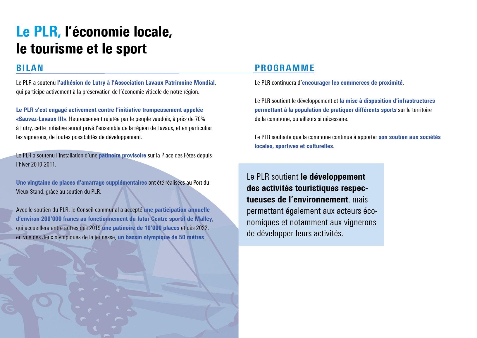 PLRLutry_Economie,tourisme et sport